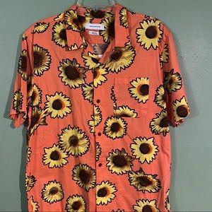 Sunflower Button Up